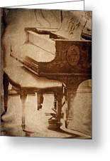 The Piano... Greeting Card