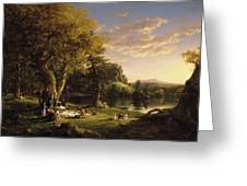 The Pic-nic Greeting Card