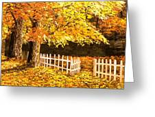 The Picket Fence Greeting Card