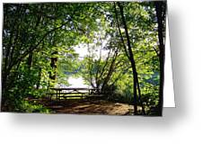 The Picnic Table Greeting Card