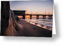 The Pier 2 Greeting Card by Kim Loftis