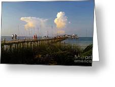 The Pier On Anna Maria Island Greeting Card