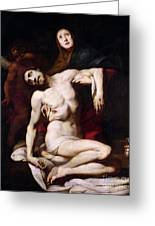 The Pieta Greeting Card