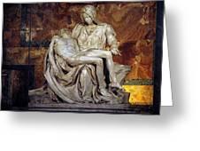 The Pieta Greeting Card