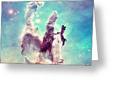 The Pillars Of Creation  Greeting Card