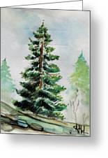 The Pine  Greeting Card