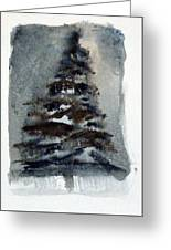 The Pine Tree Greeting Card