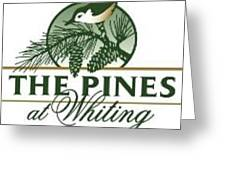 The Pines At Whiting Greeting Card