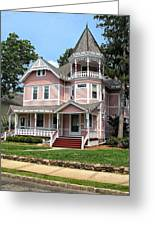 The Pink House 2 Greeting Card