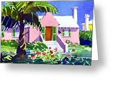 The Pink Palace Greeting Card