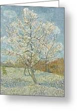 The Pink Peach Tree Arles, April - May 1888 Vincent Van Gogh 1853  1890 Greeting Card