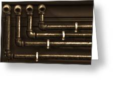 The Pipes Greeting Card