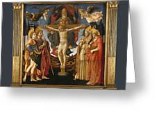 The Pistoia Santa Trinita Altarpiece Greeting Card