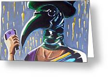 The Plague Doctor Greeting Card