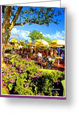 The Plaza Magic Kingdom Walt Disney World Greeting Card
