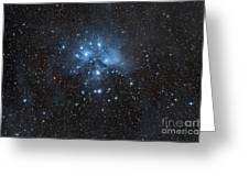The Pleiades, Also Known As The Seven Greeting Card by John Davis