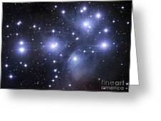 The Pleiades Greeting Card