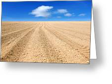 The Ploughed Field 2 Greeting Card