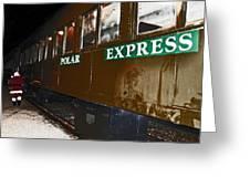 The Polar Express Greeting Card