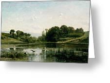 The Ponds Of Gylieu Greeting Card