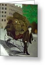 The Poor Man's Burden Greeting Card
