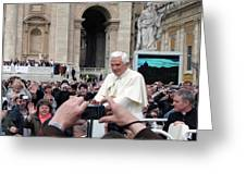The Pope Greeting Card
