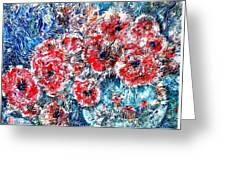 The Poppies Greeting Card
