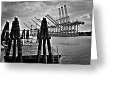 The Port Greeting Card