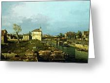 The Porta Portello, Padua Greeting Card