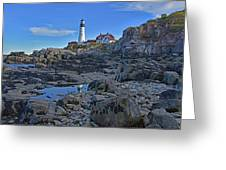 The Portland Lighthouse Greeting Card