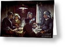 The Potato Eaters, By Vincent Van Gogh, 1885, Kroller-muller Mus Greeting Card