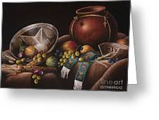 The Potter's Harvest Greeting Card