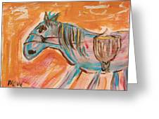 The Power Horse Greeting Card