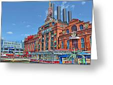 The Power Plant In The Baltimore Inner Harbor Greeting Card