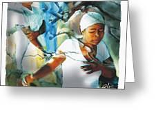 The Prayer Tree Haiti Greeting Card