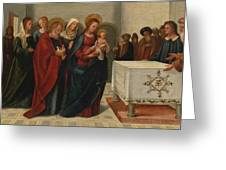 The Presentation At The Temple Greeting Card