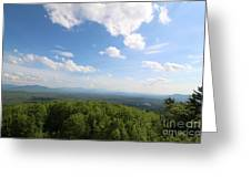 The Presidential Range From Mount Prospect Greeting Card