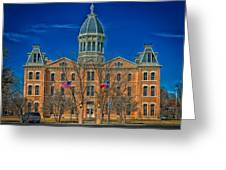 The Presidio County Courthouse Greeting Card