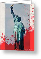 The Price Of Liberty Greeting Card