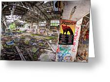 The Prodigy In Berlin Greeting Card