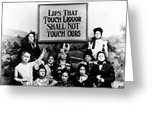 The Prohibition Temperance League 1920 Greeting Card