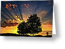 The Promise Oil Greeting Card