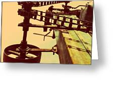 The Pulley Wagon Greeting Card