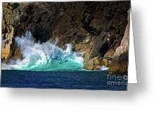 The Pulse Of Cabo San Lucas Greeting Card