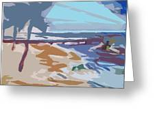 The Quay-seaside Greeting Card
