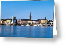 The Quays, Wexford, County Wexford Greeting Card