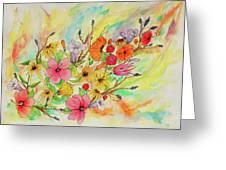 The Queens Garden Greeting Card