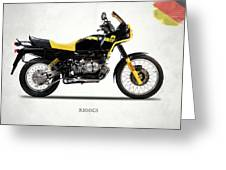 The R100gs 1991 Greeting Card