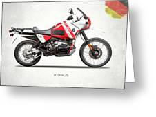 The R100gs Greeting Card