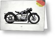 The R5 1936 Greeting Card
